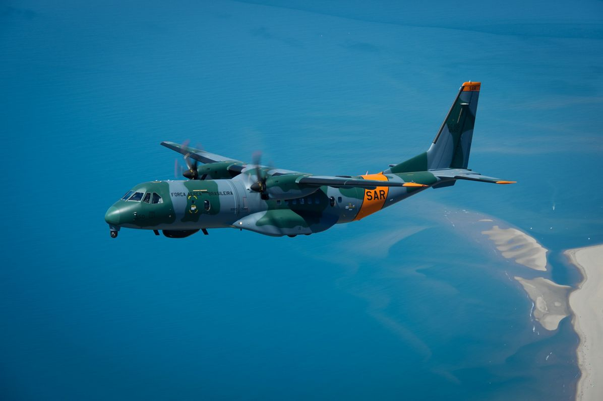 Image result for Airbus C295 Brazil