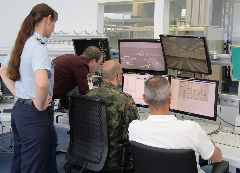 German System Support Center Eurofighter