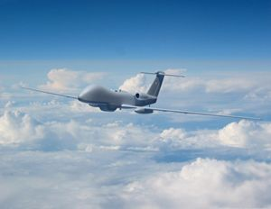 Ceremony of the withdrawal of unmanned aerial vehicles MQ-1 Predator from the combat strength of the US Air Force 20