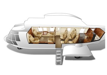 11 Seats VIP Configuration H225