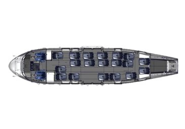 19 Seats Offshore Configuration H225