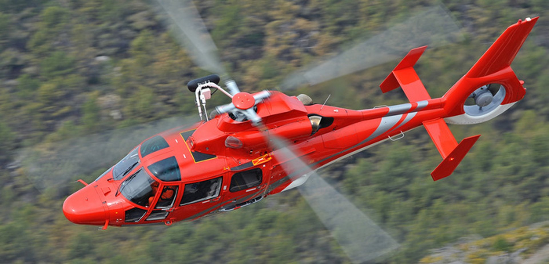 The AS365 N3+ is a member of Airbus' medium-weight Dauphin family of helicopters.