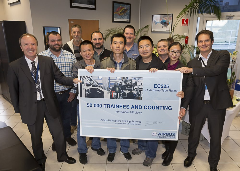 50,000th trainee graduates from Airbus Helicopters Training Services