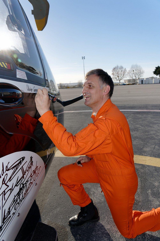 Olivier Gensse, experimental test pilot on the H160