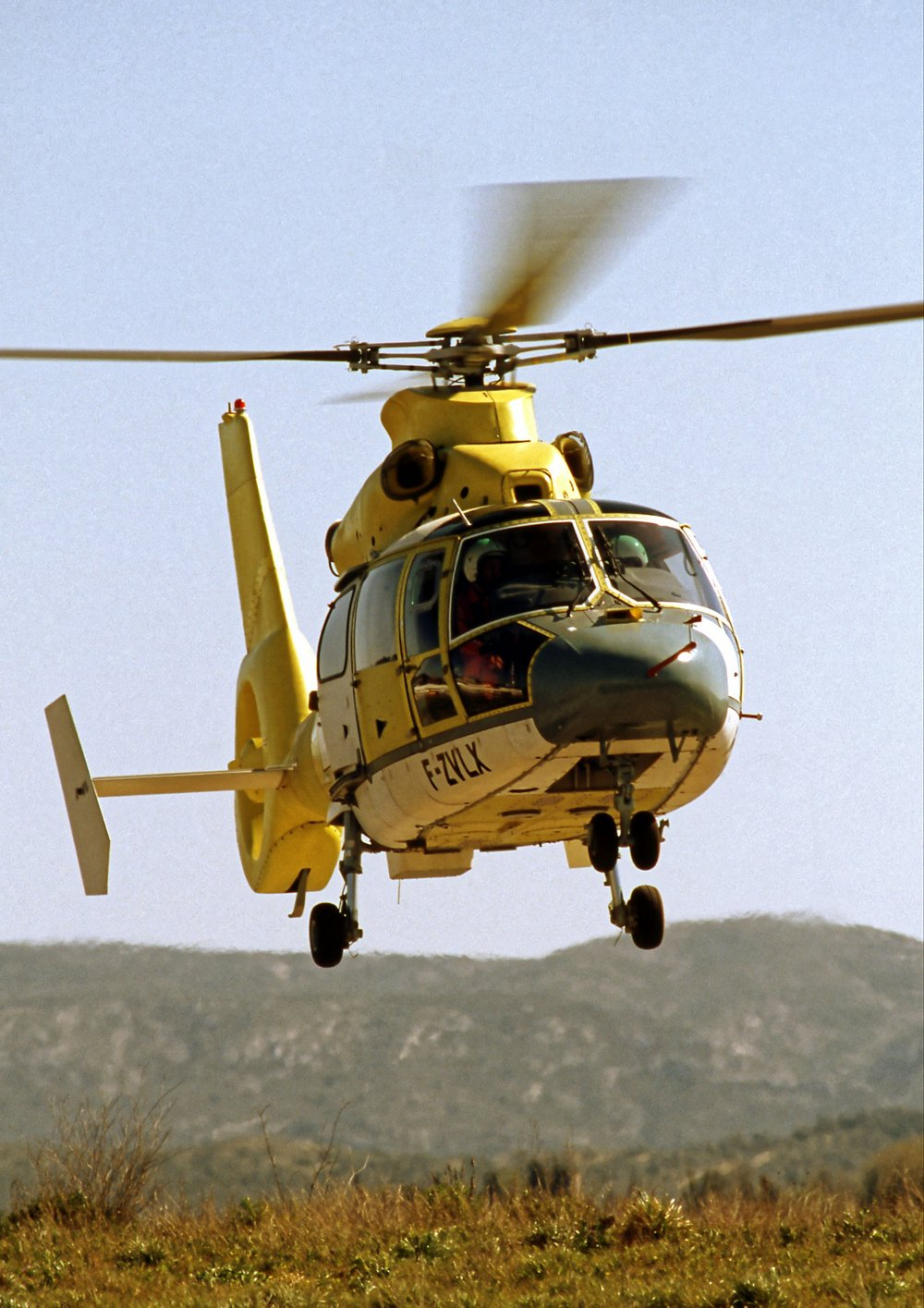 The AS365 N3, a high-performance version of the Dauphin helicopter, performed its maiden flight in 1996.