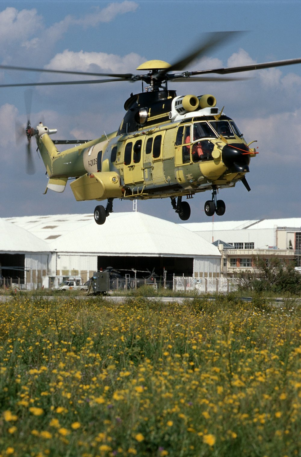 First flight of EC725 with the Makila 2A engine in Marignane on September 20, 2002.