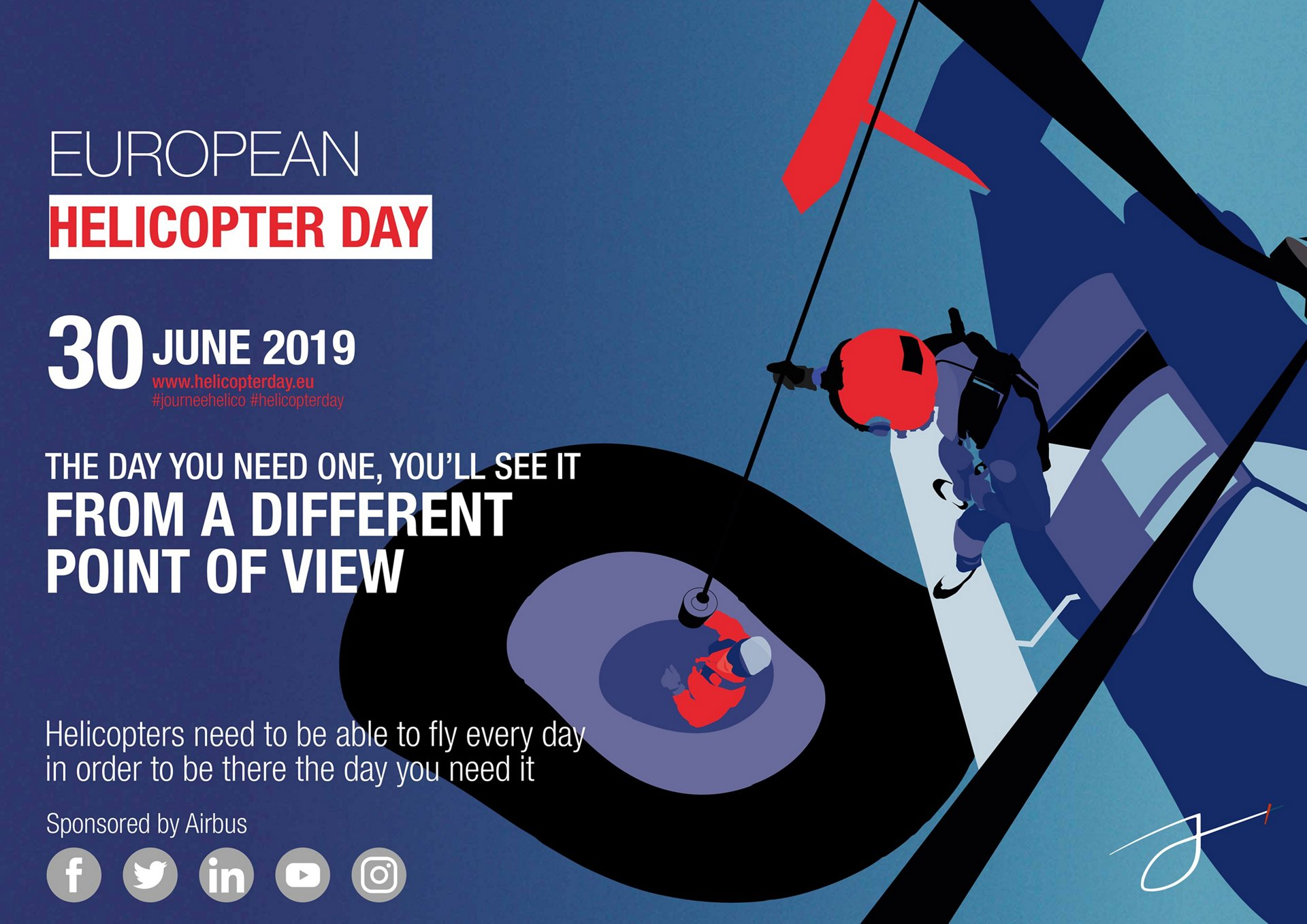 Celebrating the past, present and future of rotorcraft on European Helicopter Day