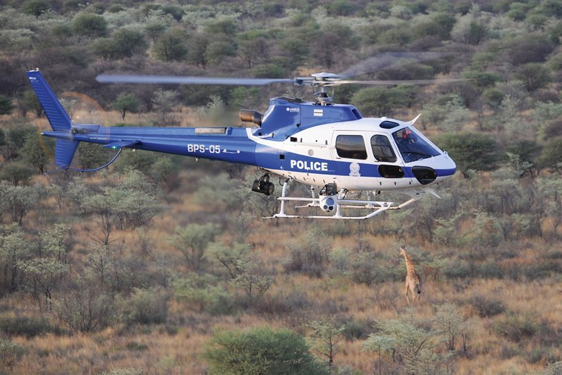 Botswana Police Service's H125