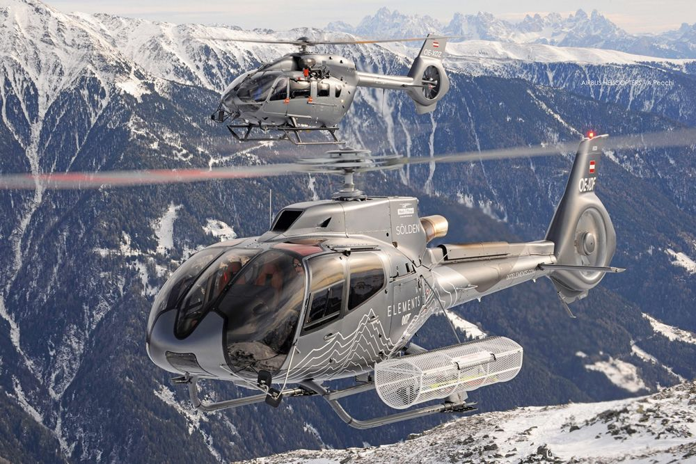 Heli-Austria recently sent two H125s and one H130 to Iceland for heliskiing and sightseeing tours.