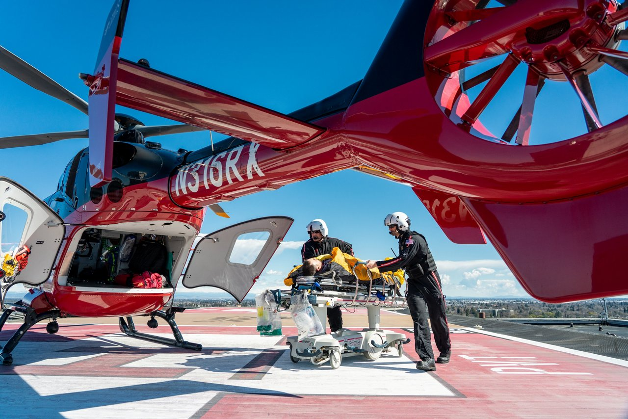 In 2018, two of the US's largest EMS transport providers - Air Medical Group Holdings and American Medical Response – combined to form Global Medical Response (GMR). The company's six air-based subsidiaries and dozens of ground ambulances now provide emergency medical transport for 46 states and the District of Columbia.