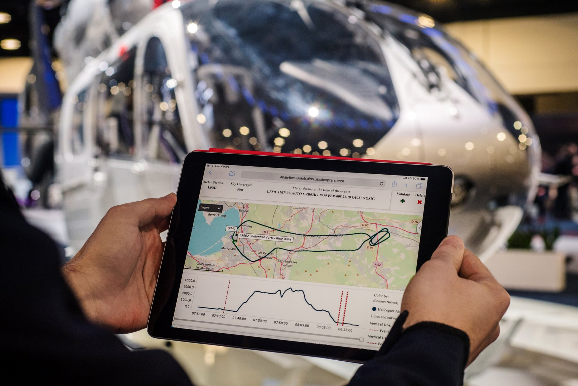 Airbus Helicopters offers a range of connected services solutions that help customers collect and make sense of their data.