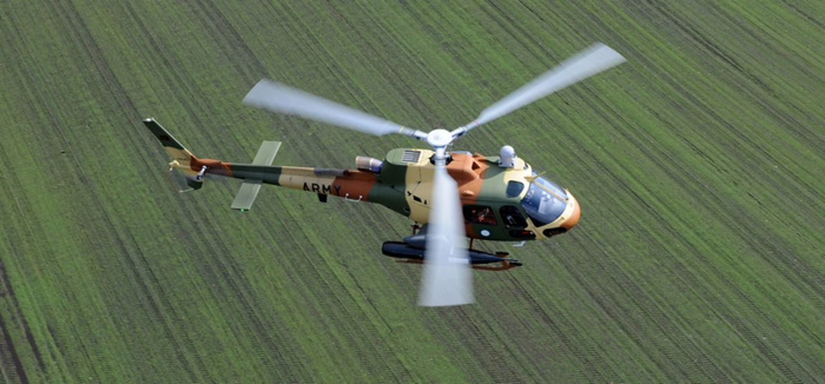 Combat flights with the H125m