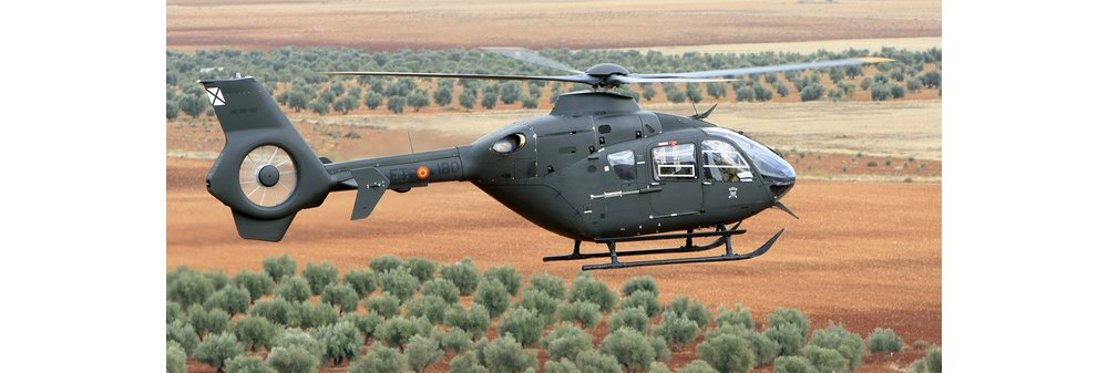 The H135M is the enhanced military version of Airbus' three-tonne-class EC135 twin-engine rotorcraft
