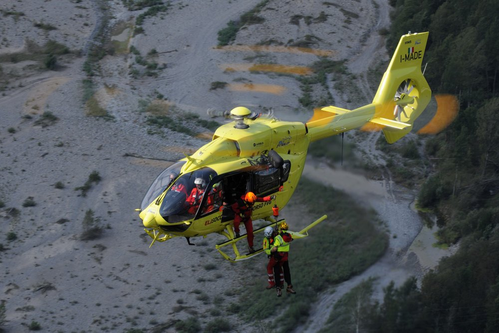 Italian operator Eli Friulia performs EMS missions with an H145