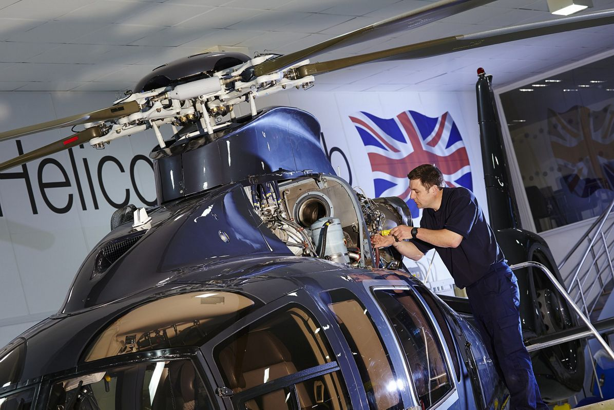 Easy maintenance for the H155