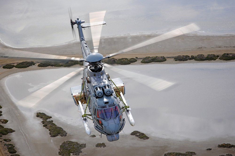 H225M in flight