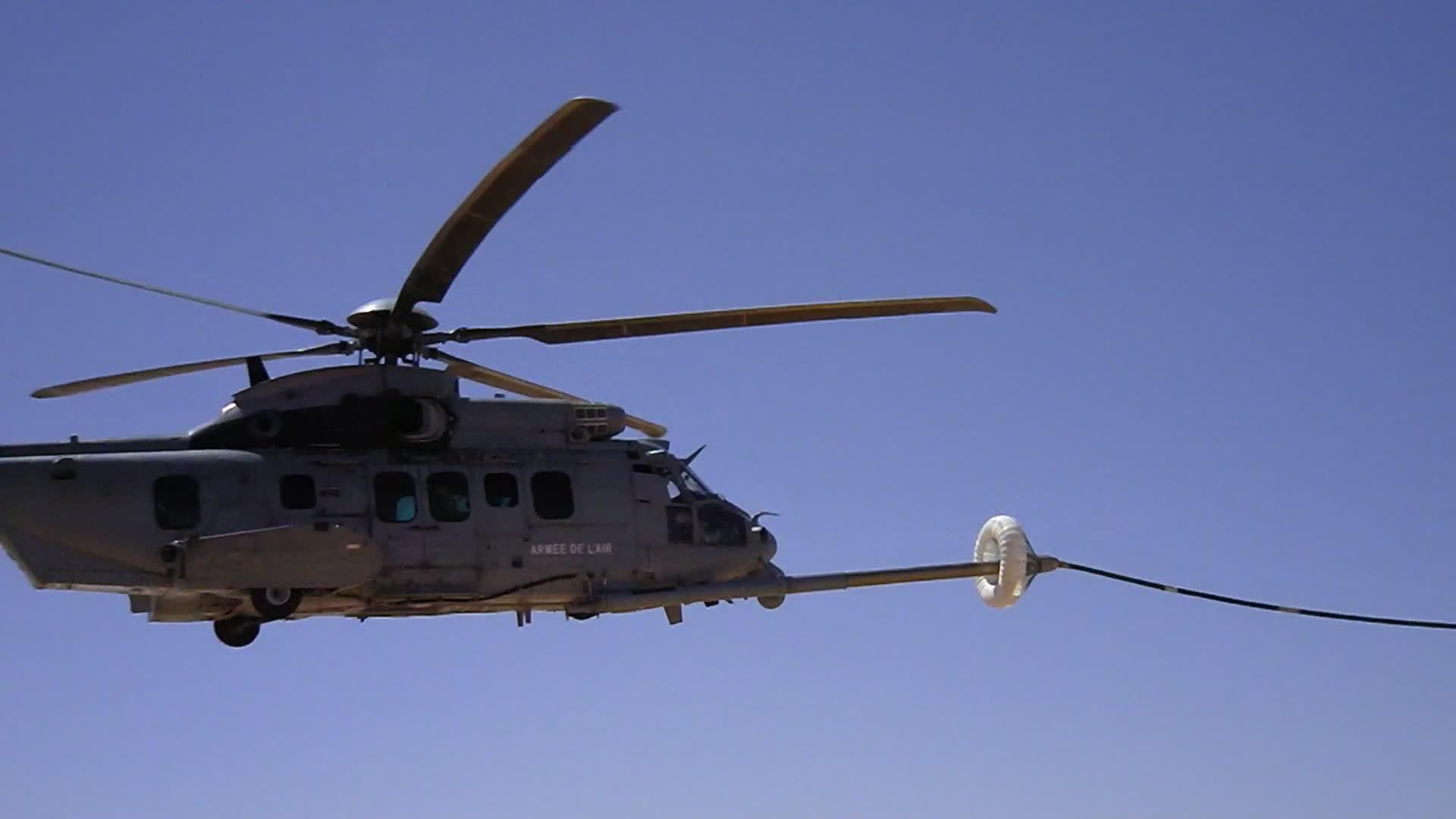 H225M Refueled In Flight