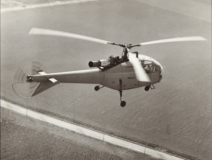 First flight of the Alouette III