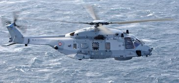 NH90 NFH in flight - Side view