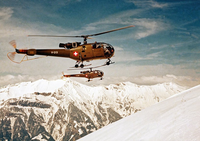 Alouette III for the Swiss Air Force