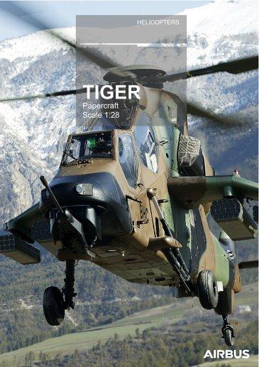 Tiger papercraft