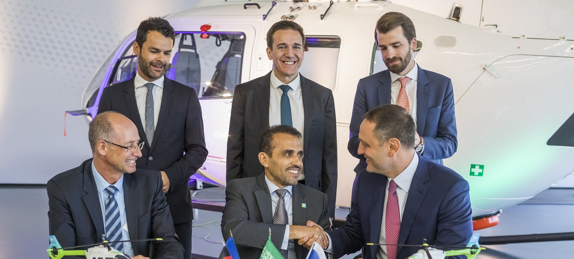 Milestone Aviation and Airbus to provide five H145 helicopters to Aramco