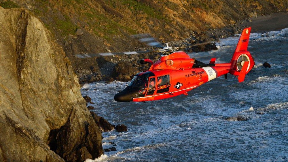 HH-65 US Coast Guard