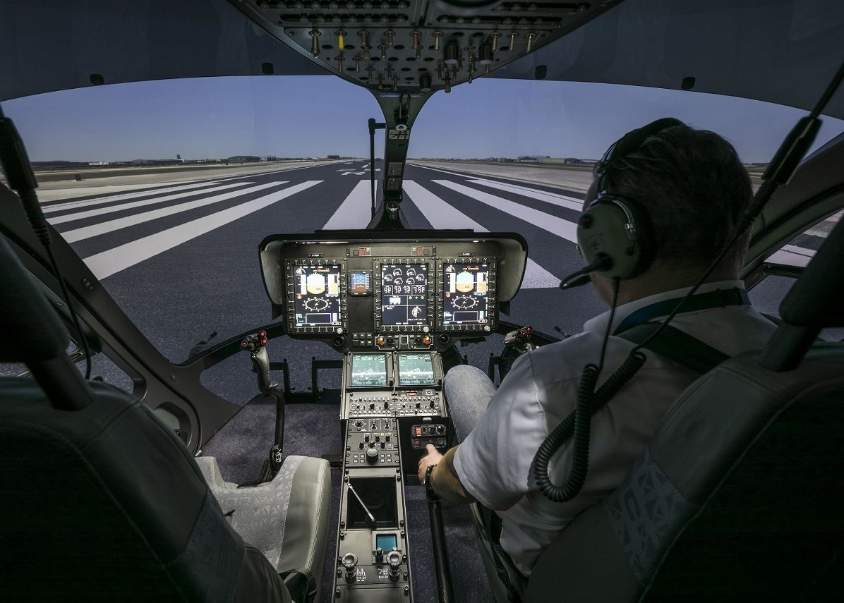 German Federal Aviation Office certifies world's first H145 full flight simulator