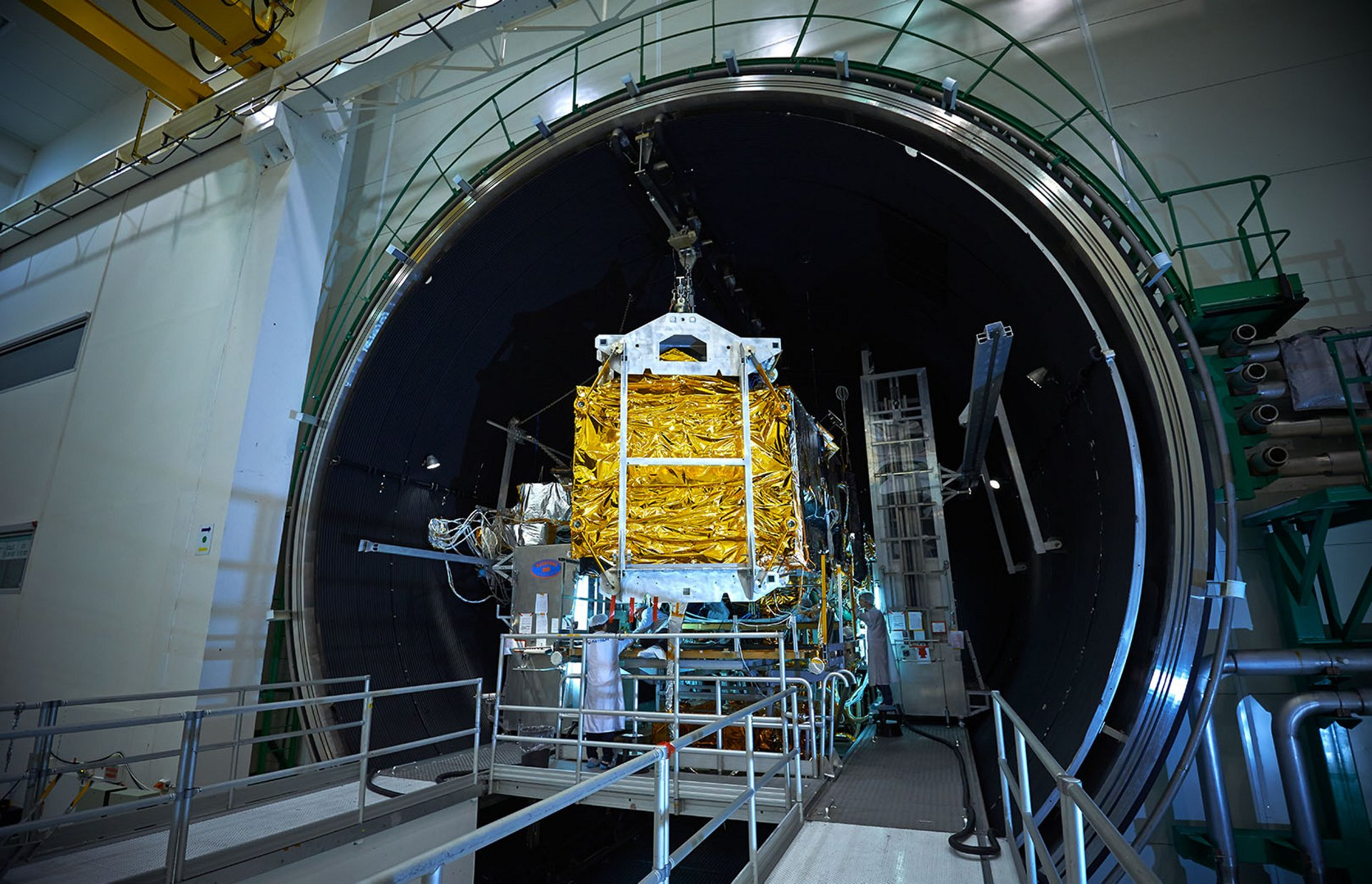Airbus is a leader in environmental testing services for spacecraft, with three facilities across Europe.