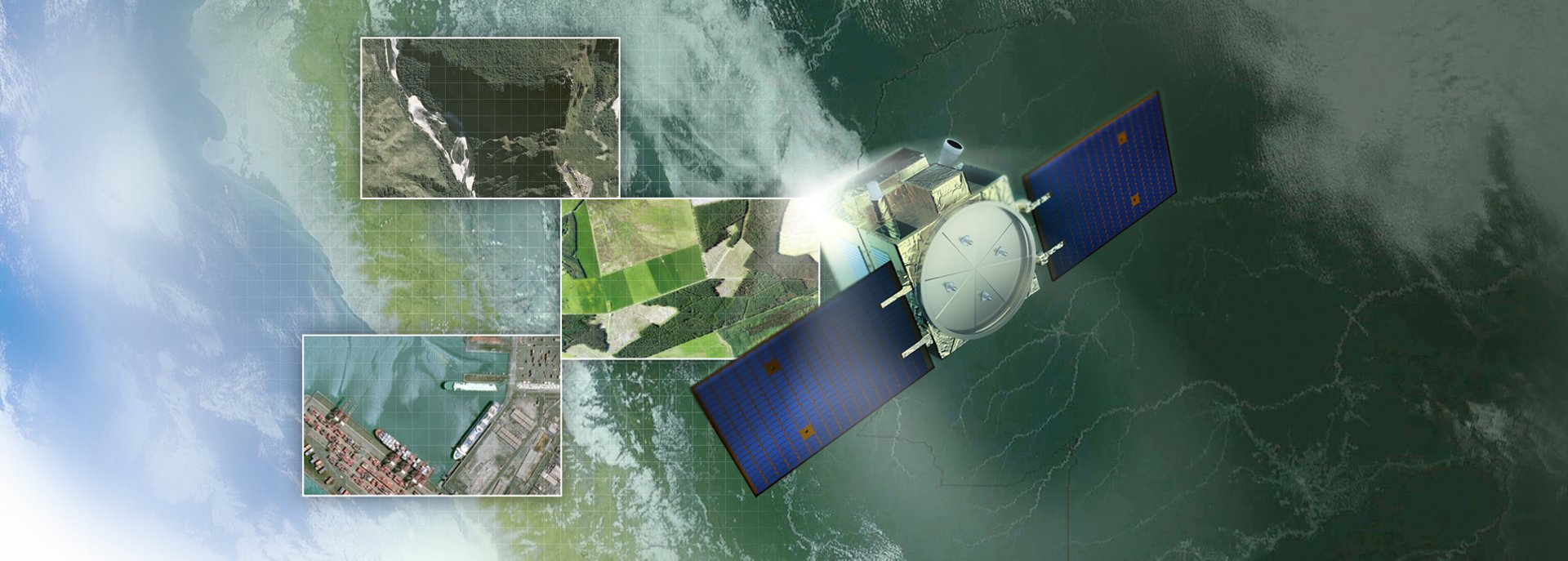 PerúSAT-1 is a very-high-resolution Earth observation satellite system built for the government and Space Agency of Peru. This satellite is the first of its kind operated by Peru and was launched in September 2016.