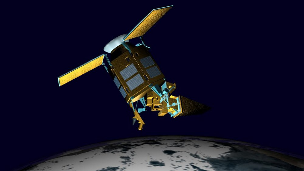 A representation of the Airbus-designed Sentinel-5 Precursor Earth observation satellite dedicated to atmosphere monitoring. Page Break