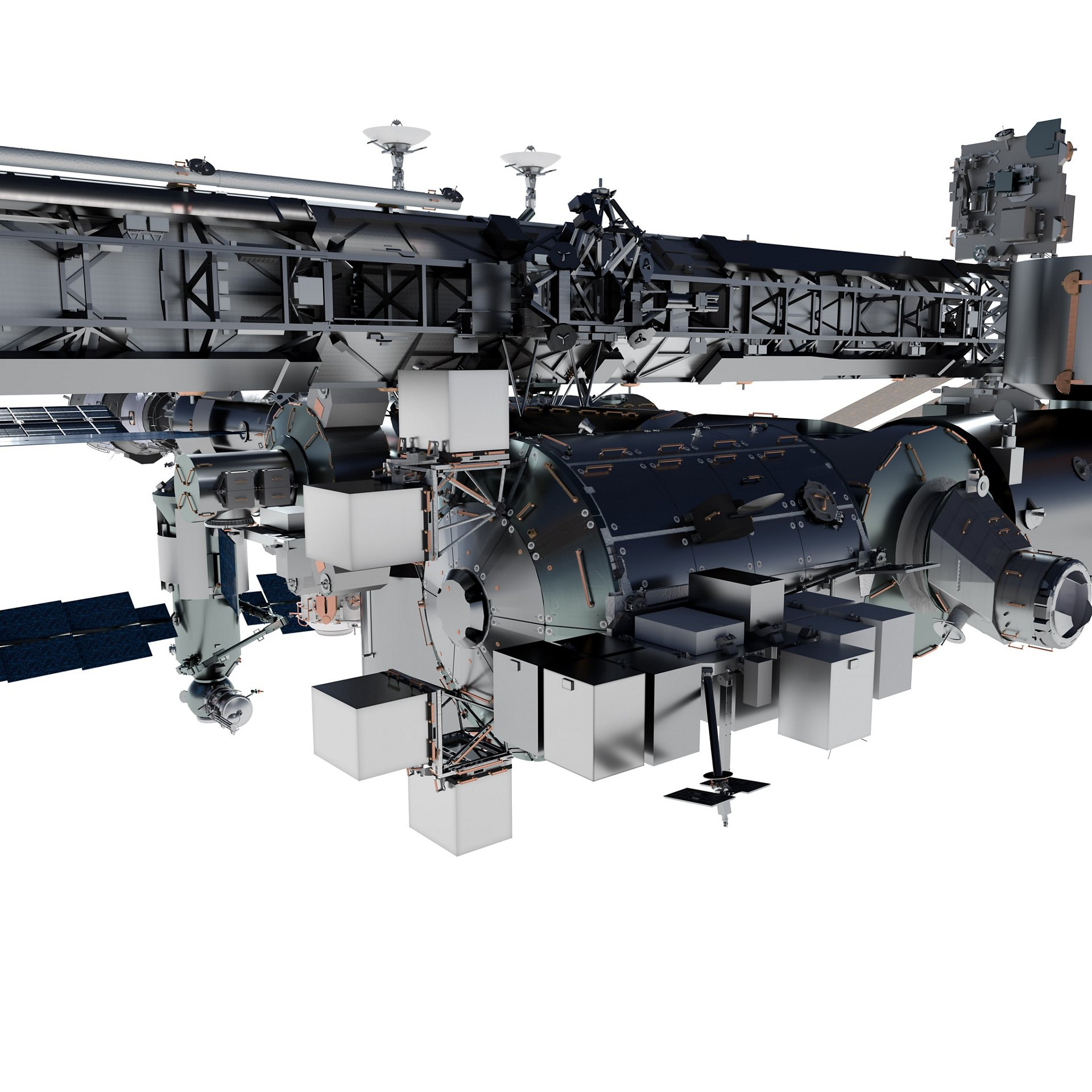 … the payload's transfer to the Bartolomeo platform