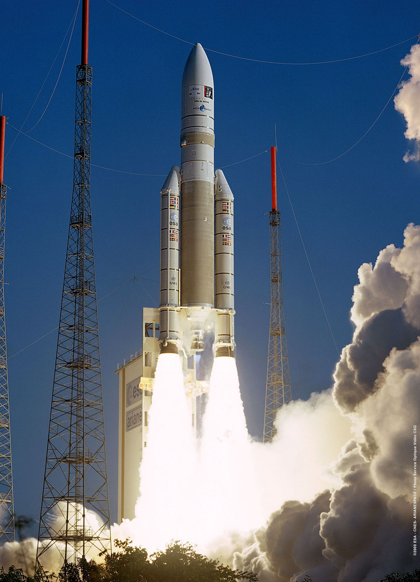 Airbus Defence and Space takes care of the launch operations