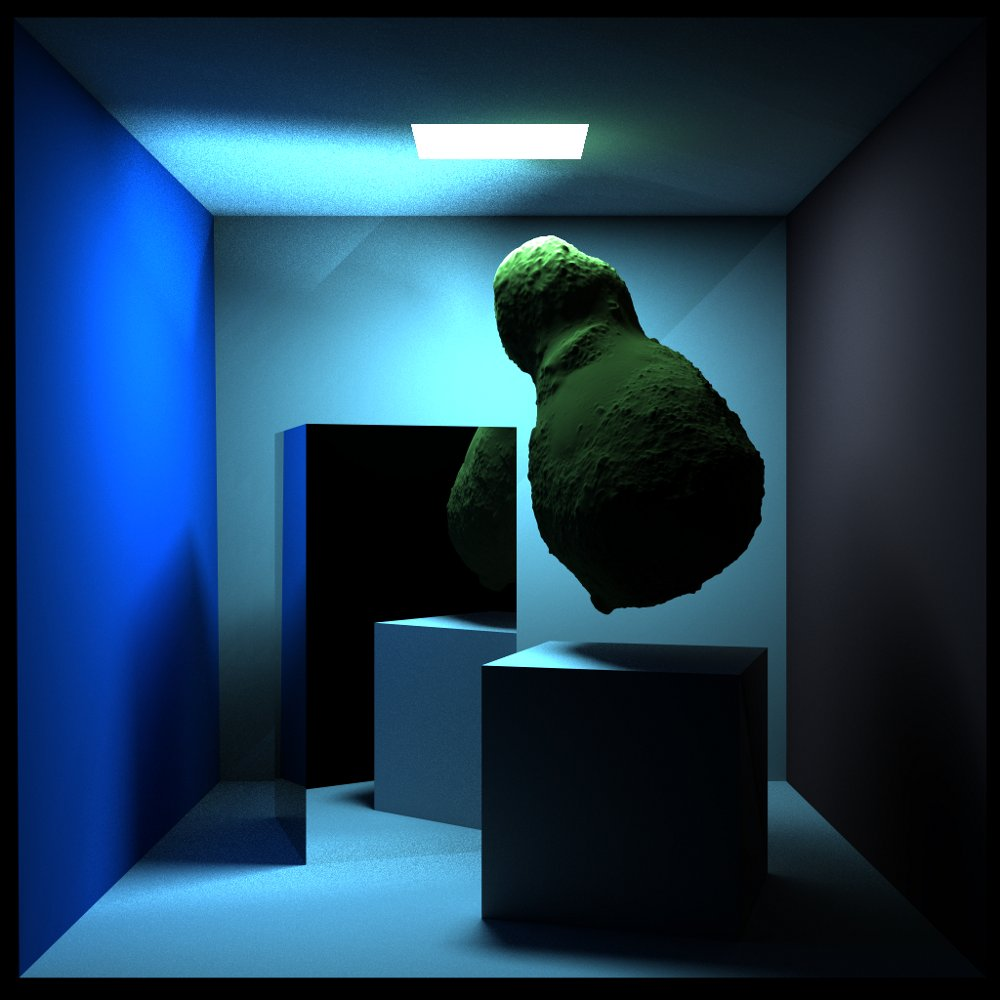 The raytracing technique implements the physical principles of light propagation with a very high level of realism.