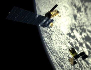 Spot & Envisat satellites