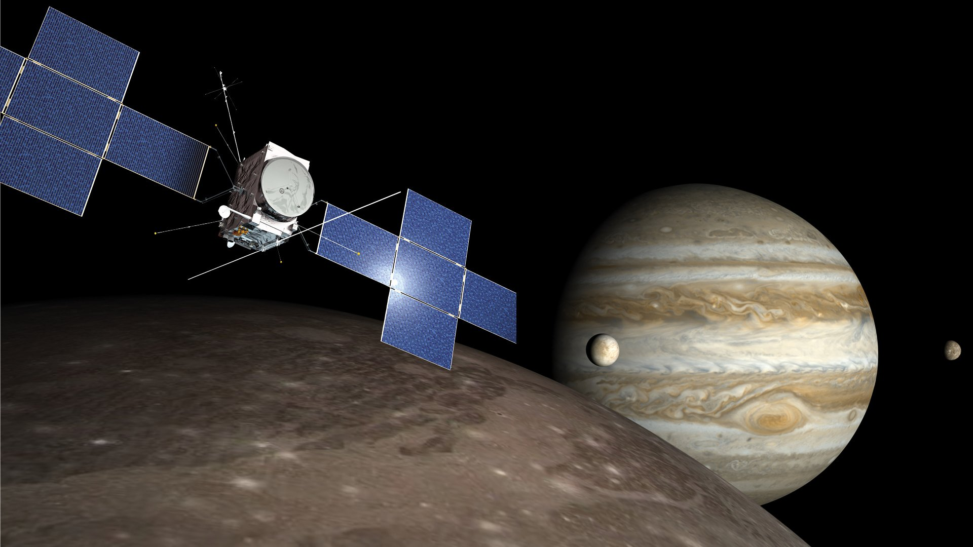 JUICE - Searching for life on Jupiter's icy moons - Space exploration -  Airbus
