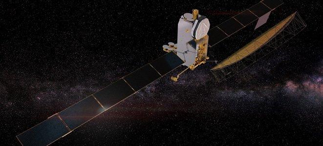 Web Space Telecommunications Satellite Inmarsat 6.flexible