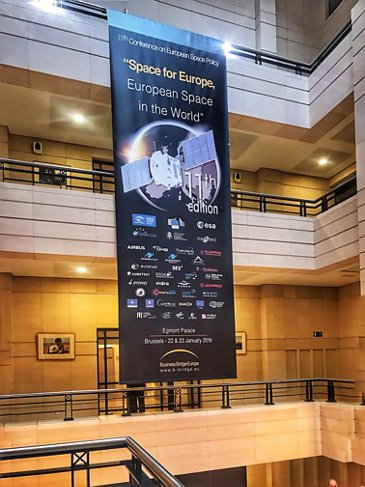 11 Conference On European Space Policy Poster