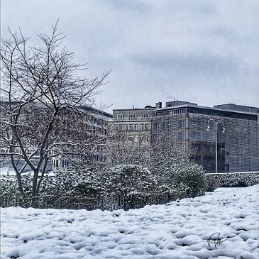 Airbus Brussels Office Winter