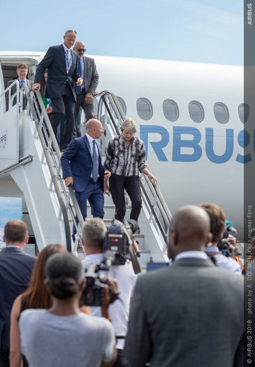 Theresa-May-Farnborough-Airshow