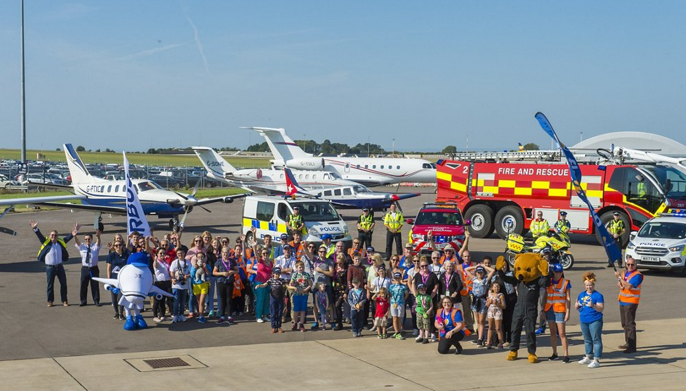 Air Smiles Day Bristol Airport
