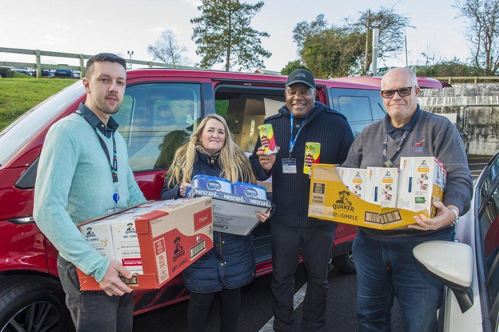 Airbus Food Donation