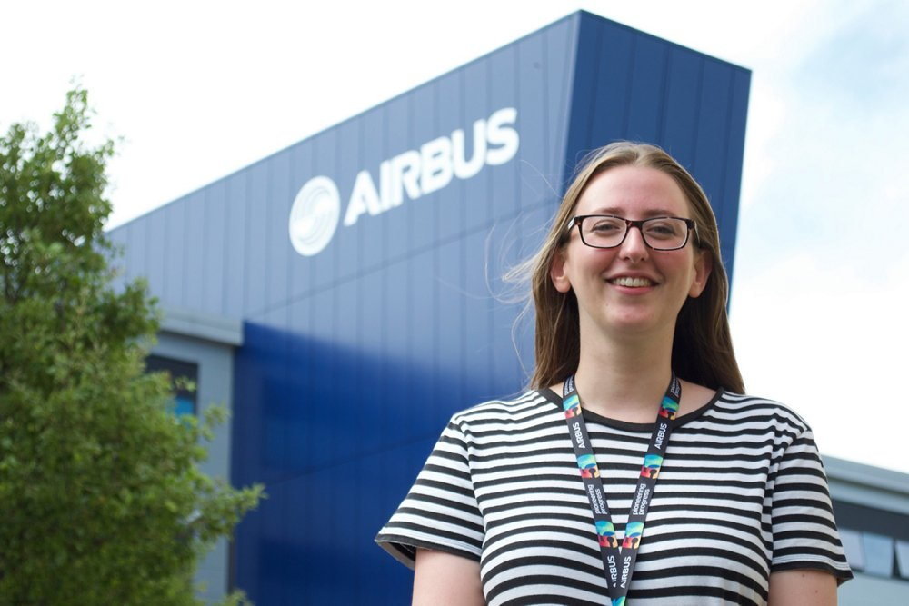 Airbus Apprentice Lucy King – Apprentice of the Year for the South West