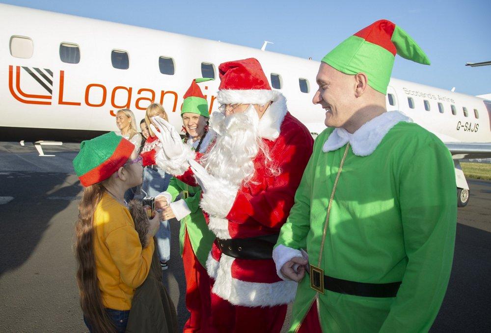 Santa Flight at Broughton