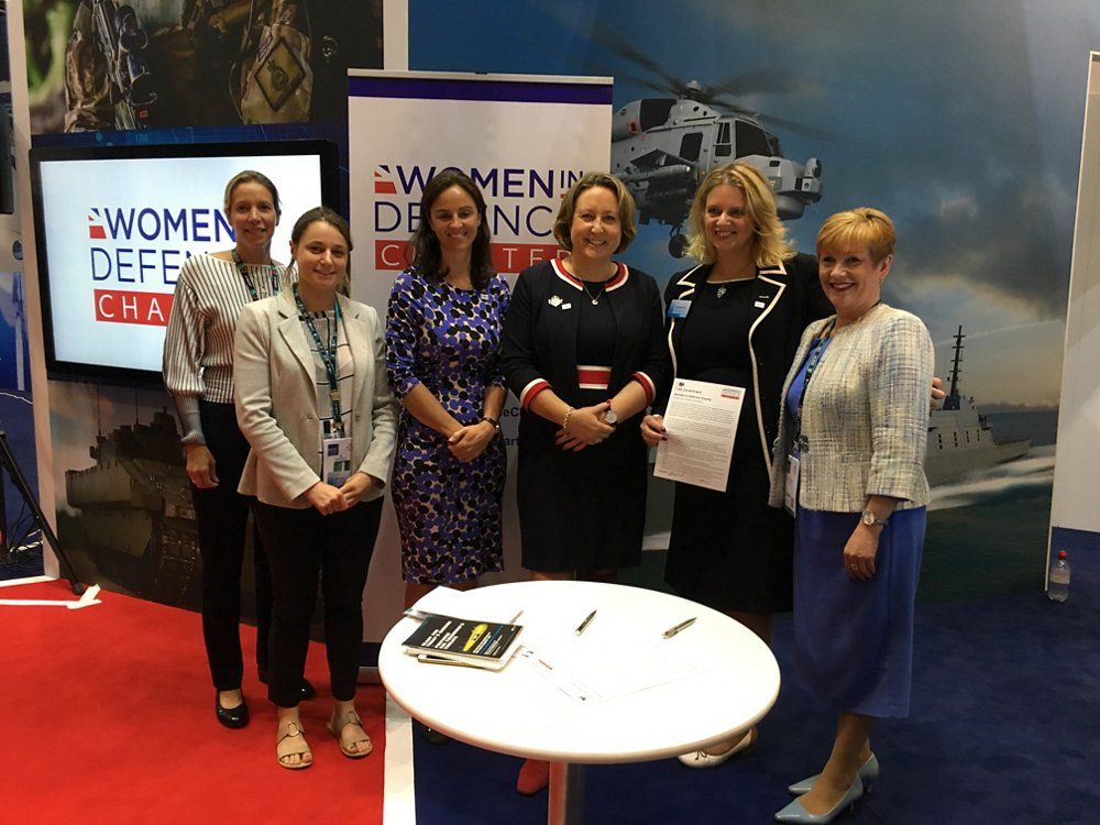 Airbus signs the Women in Defence Charter