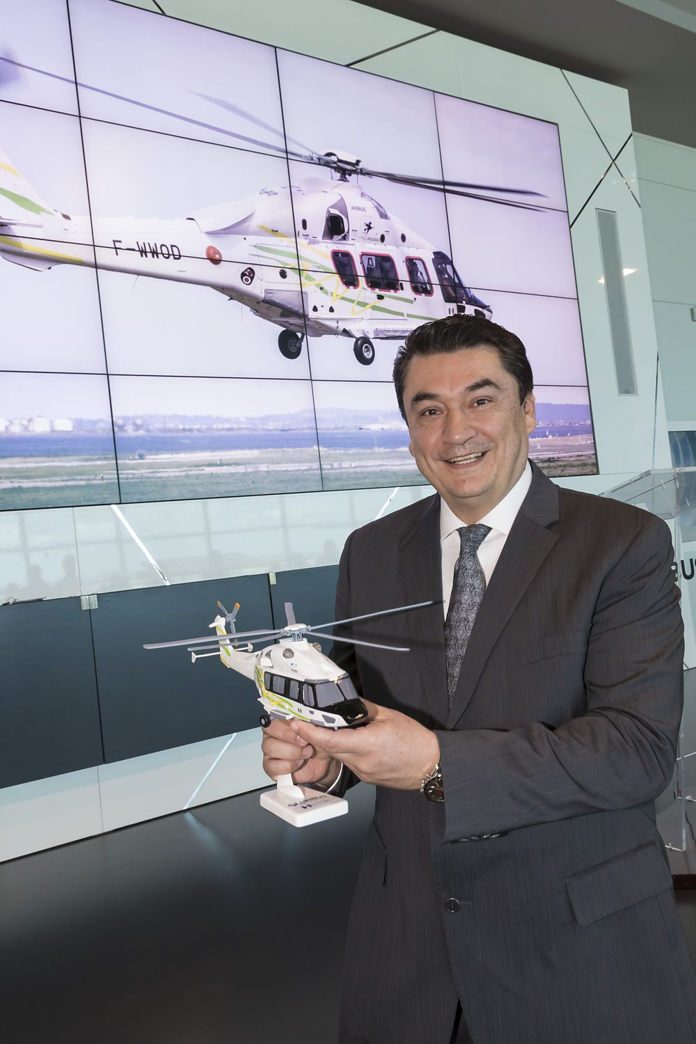 José Erosa, Operations director of H175 operator Pegaso