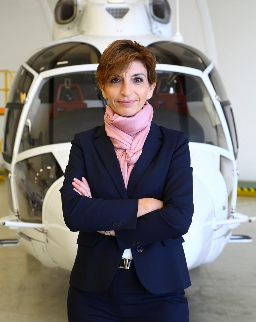 Charlotte Pedersen, CEO of Luxaviation Helicopters