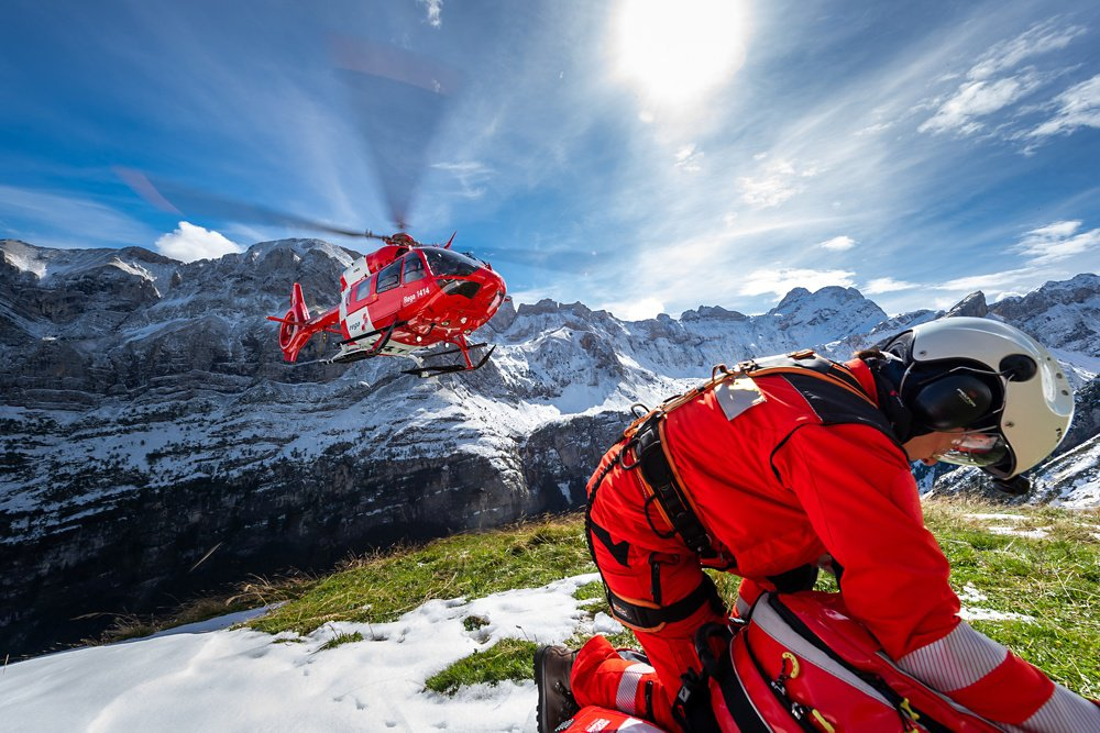 Swiss Air-Rescue Rega is one of the world's oldest air rescue organisations, responding to accidents in the Swiss Alps where sites are difficult to reach from the ground. Rega has achieved many milestones in the course of its history and continues to set standards in mountain rescue today.