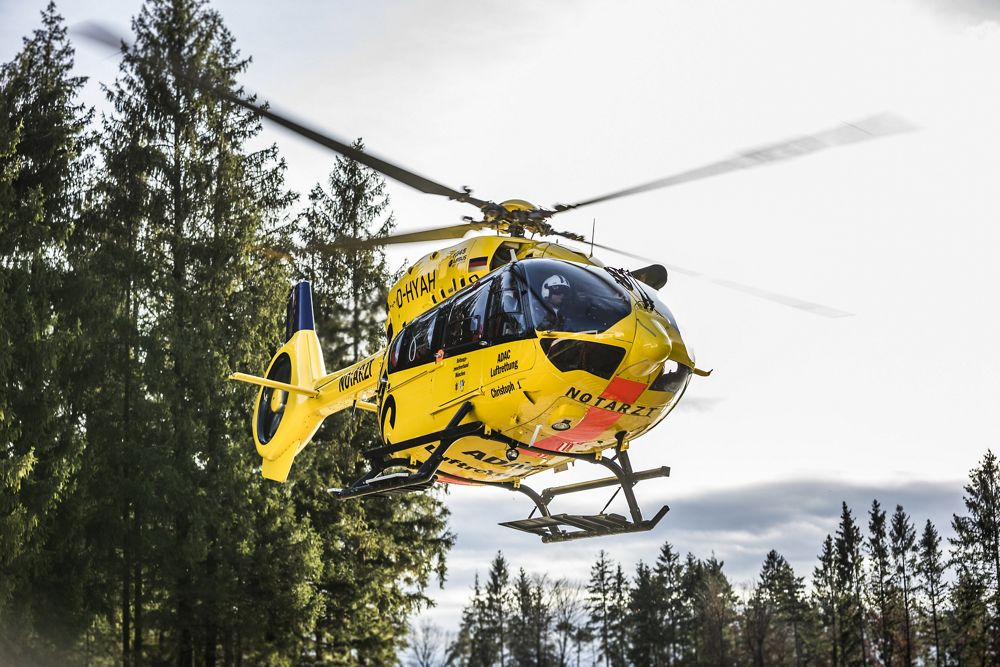 ADAC performs rescue missions in the Bavarian Alps flying Airbus' H145 helicopter