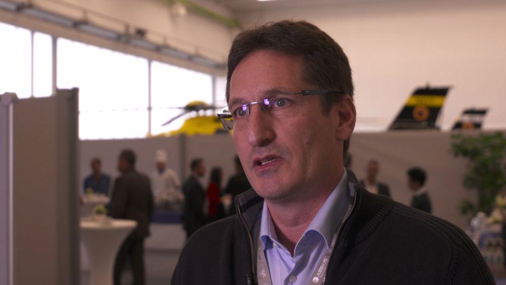 Dieatmar Gehr, pilot with DRF Lufrettung